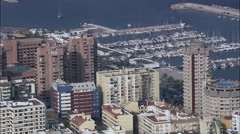 Fuengirola aerial Stock Footage
