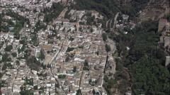 Granada aerial Stock Footage