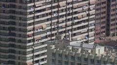 Benidorm aerial Stock Footage