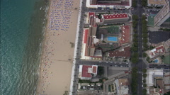 Benidorm Beach Stock Footage