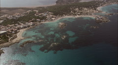 Punta Prima And Platja Des Canyers Stock Footage