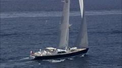 Metre Symmetry Yacht - stock footage