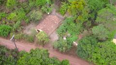 Aerial Chapada Diamantina circus Bahia, Brasil Stock Footage