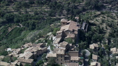 Deia aerial Stock Footage