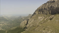 Approaching Pollenca Stock Footage