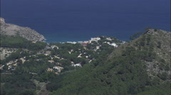Cala De Sant Vicenc Stock Footage