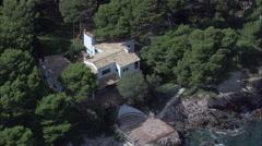 Villas On Cap Formantor Stock Footage