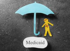 Medicaid healthcare concept - stock photo