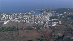 Portochristo aerial Stock Footage