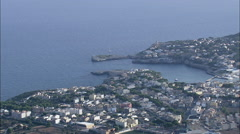 Portochristo aerial Stock Footage