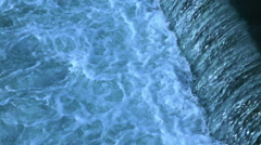 The rapids of a mountain river Stock Footage