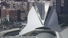Palau De Les Arts Stock Footage