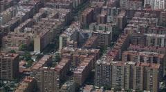 Valencia aerial Stock Footage