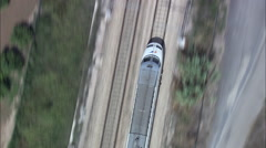Train Approaching Pucol Stock Footage