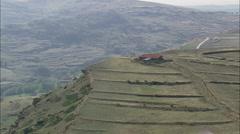 Valdelinares aerial Stock Footage