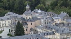 Royal Palace Of La Granja Of San Ildefonso Stock Footage