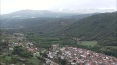 Montemayor Del Rio And Castle Stock Footage