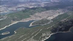 Cijara Reservoir Stock Footage