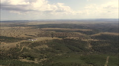 Landscape In Castile-La Mancha Stock Footage