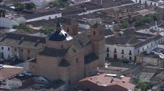 Almagro aerial Stock Footage