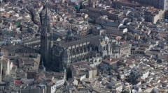 Holy Cathedral Of Toledo Stock Footage
