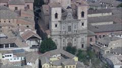 Toledo aerial Stock Footage