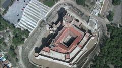 Castle Of La Mota Stock Footage