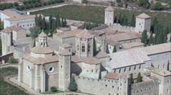 Poblet Monastery Stock Footage