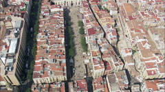 Tarragona aerial Stock Footage