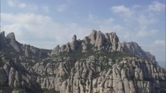 Santa Maria De Montserrat Abbey Stock Footage