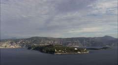 Passing Saint-Jean-Cap-Ferrat Stock Footage