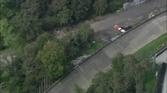 Monza Race Track Stock Footage