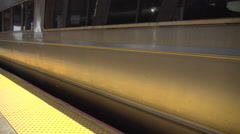 The Rockville Centre train leaving Stock Footage