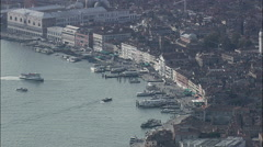 Boat Traffic At Venice Stock Footage