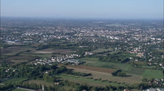 Landscape Towards Treviso Stock Footage