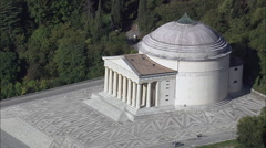 Tempio Canoviano At Possagno Stock Footage