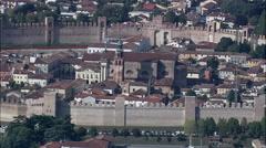 Cittadella aerial Stock Footage