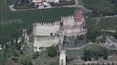Soave aerial Stock Footage
