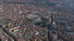 Roman Amphitheatre Stock Footage