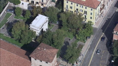 Verona aerial Stock Footage