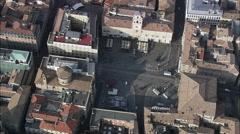Parma aerial Stock Footage