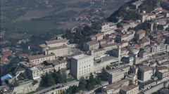 City Of San Marino Stock Footage