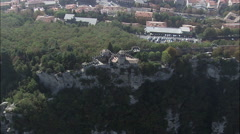 Fortress Of Guaita, San Marino Stock Footage