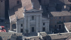 Urbino Cathedral Stock Footage