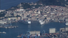 Ancona aerial Stock Footage