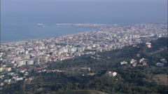 Pescara aerial Stock Footage