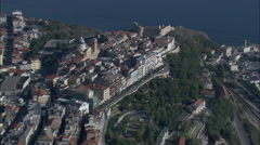 Ortona aerial Stock Footage
