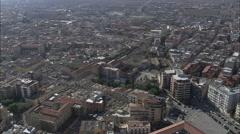 Lucera aerial Stock Footage