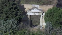 Roman Amphitheatre Lucera Stock Footage
