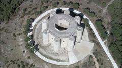 Castel Del Monte Stock Footage
